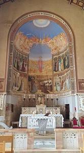 ציורי קיר בכנסייה