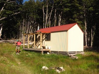 Maitland Hut - סיום יום ברמה הכי גבוה שאפשר