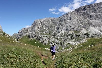 טיול בסביבת Passo Sella