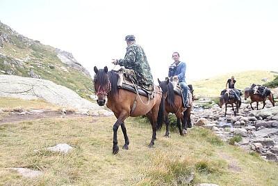 אספקה מגיעה על סוסים