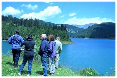 אגם ברכס הבוצ׳ץ Bucegi.
