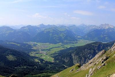 עמק הTannheimr Tal - אוסטריה לשם נרד