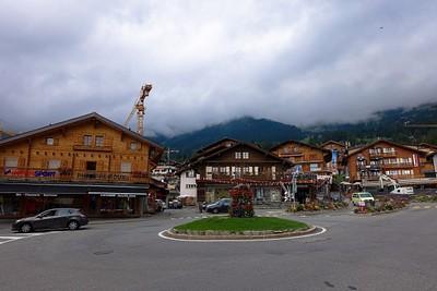העיירה Verbier - יש בה כל מה שצריך.