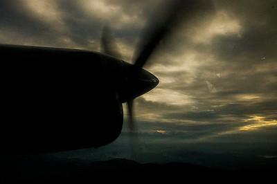מנוף מהמטוס
