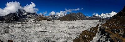 מבט פנורמי לקרחון