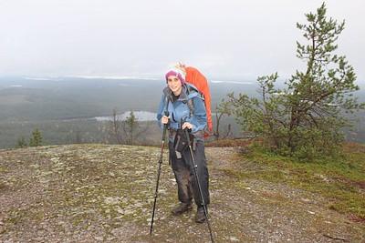 על ההר הכי גבוה Valtavaara