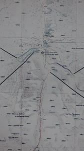 מפה קטנה של אזור הטיולים