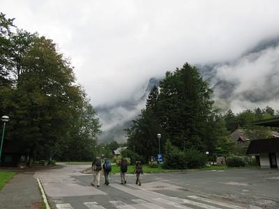 תחילת ההליכה - עננים מבשרי רעות