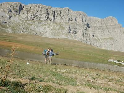 האגם המקסים שעברנו לידו