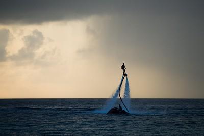 ספורט ימי באיזור התיירים