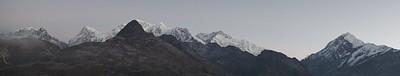 משתלם לקום בחושך ובקור. Dzongri Top