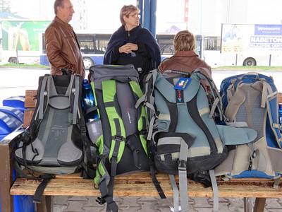 התיקים כבר מוכנים בתחנה המרכזית בפופרד
