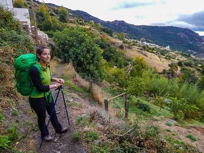 ביציאה מ-Bubion לעבר Capileira