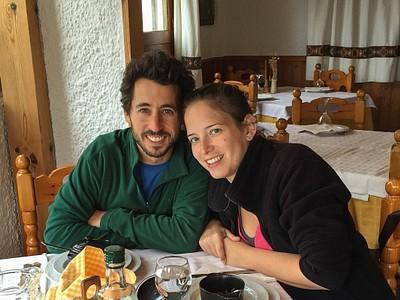 ארוחת סיום טרק ב-Trevelez