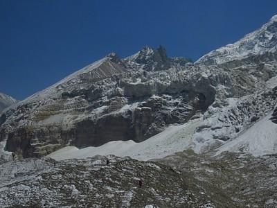 מטפסים על הקרחון