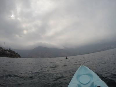 קיאקים באגם אטיטלן