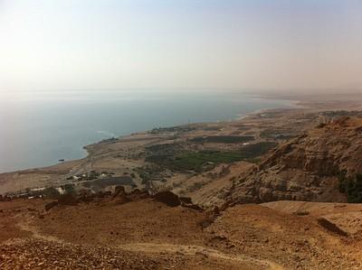 הנוף מפסגת הר ישי