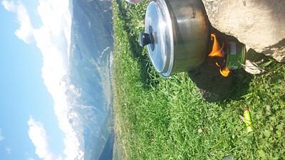 מבשלים על ההר:)