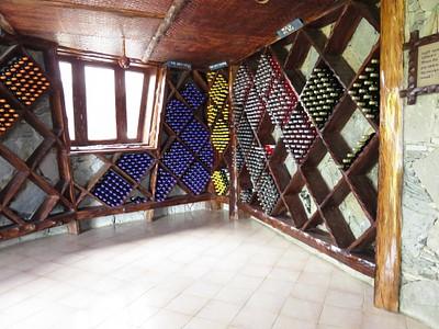 חנות היין במסעדת היקב