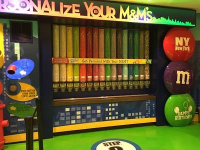 חנות m&m בtimes square