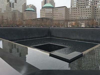 האנדרטה לזכר התאומים- Ground Zero