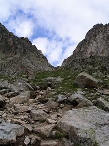 הטיפוס התלול לאוכף d'Arpette