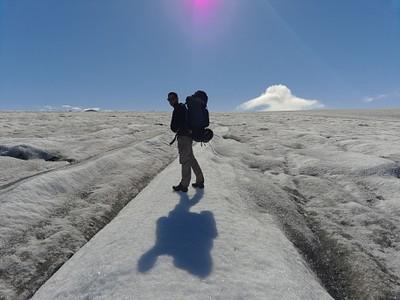 על הקרחון