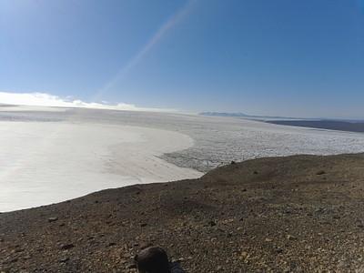תצפית מקצה הקרחון