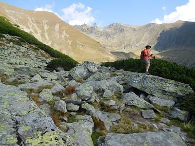 הנוף מהצד השני של הרכס