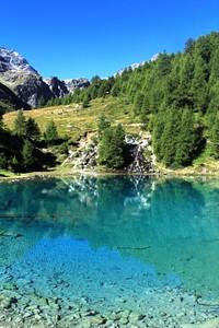 Lac blu