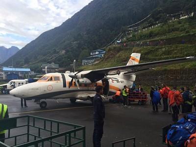 המטוס איתו הגענו