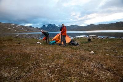 על אגם Bessvatnet
