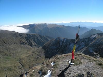 הנוף הנשקף מהפסגה
