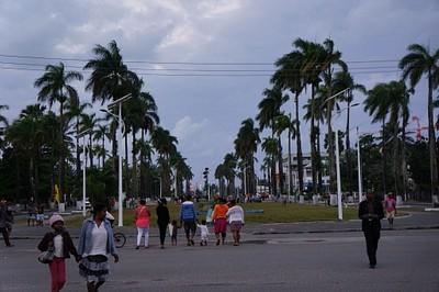 הכיכר המרכזית של Tamatave