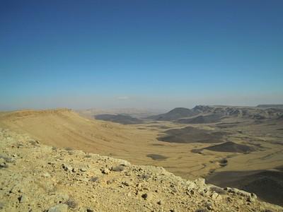 דרום המכתש מקרני הר רמון