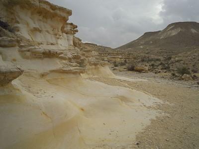 תצורות סלעים בין גבעת חרוט להר ארדון