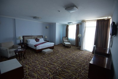 חדר המלון שקיבלנו