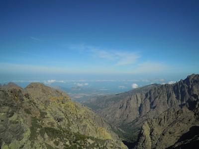הנוף היפה מהפסגה