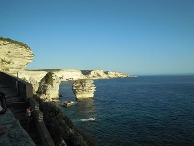 המפרץ של בוניפציו מהעיר העתיקה