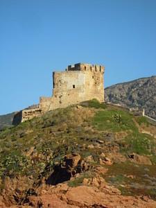 מבצר שמירה קטן במפרץ פורטו