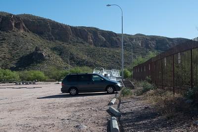 החניה בתחילת המסלול - לא צריך להשתמש בטונטו פאס
