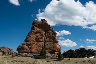 איזור Bison Peak