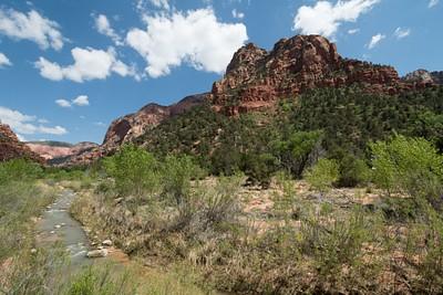 הכניסה ל-לKolob Canyon