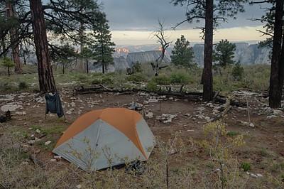 ה-Campsite ב-West Rim