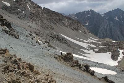 הדרך לפס (מבט מלמעלה)