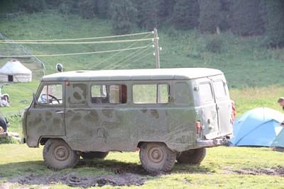 רכס סובייטי - אחד הרכבים של ההסעות