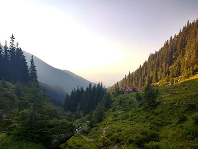 הנוף מבקתת טורנורי