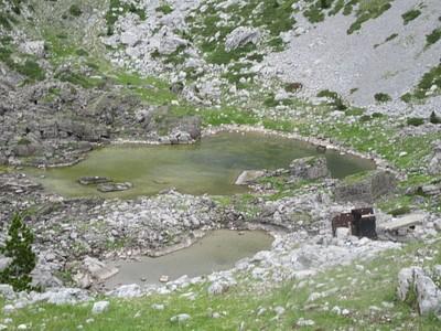 שלושת האגמים לפני מעבר הפאס