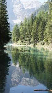 קטע מאגם Lago di Braies