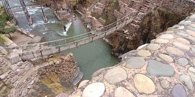 גשר האינקה המשוחזר